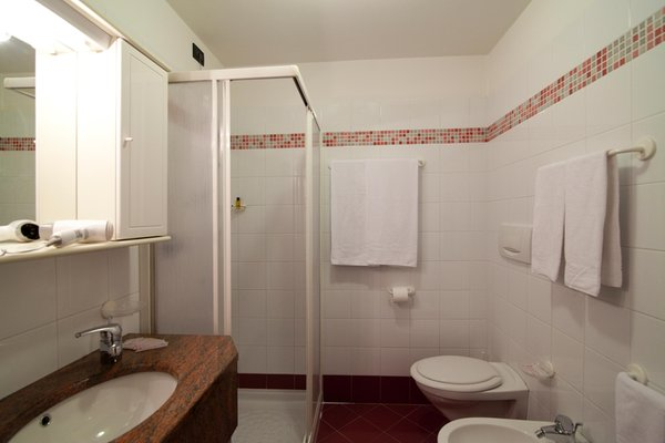 Photo of the bathroom Apartments in hotel Majestic
