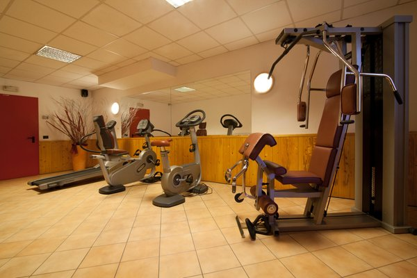 Photo of the fitness area Apartments in hotel Majestic