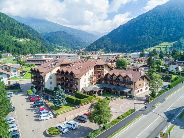 Position Apartments in hotel Majestic Predazzo