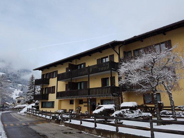 Foto invernale di presentazione Residence Lagorai