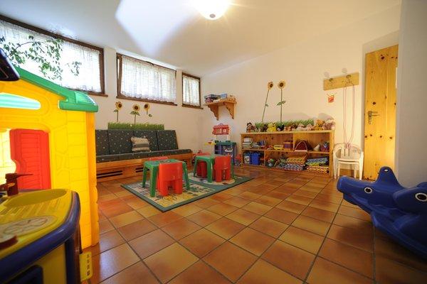 La sala giochi Residence Lagorai