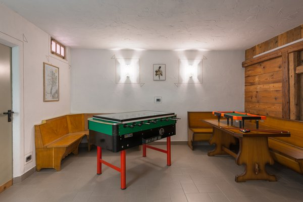 La sala giochi Residence Mich - Family & Wellness
