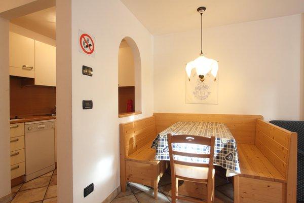 La zona giorno Residence Montebel