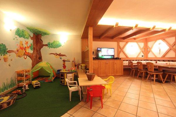 La sala giochi Residence Montebel