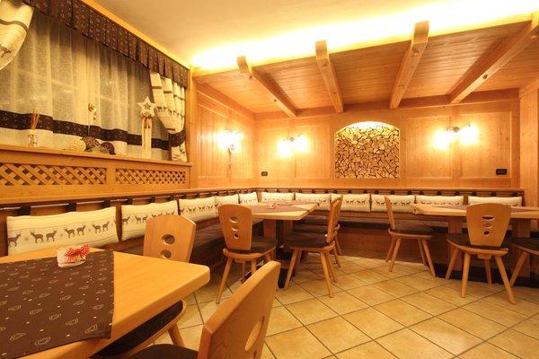 Il ristorante Tesero Montebel