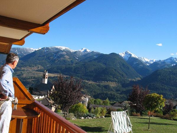 Foto del balcone Villa Boschetto