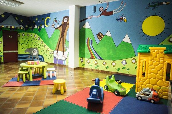 La sala giochi Residence Des Alpes