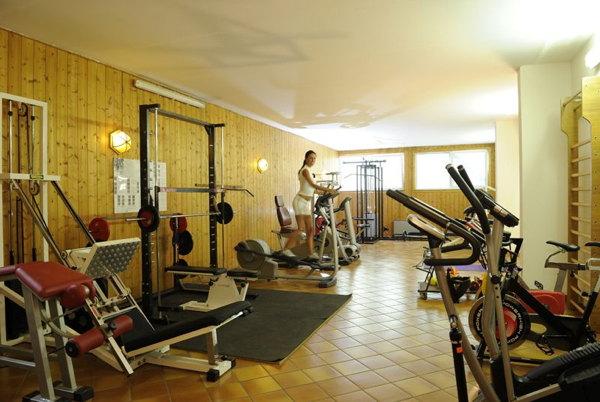 Foto della zona fitness Residence Des Alpes