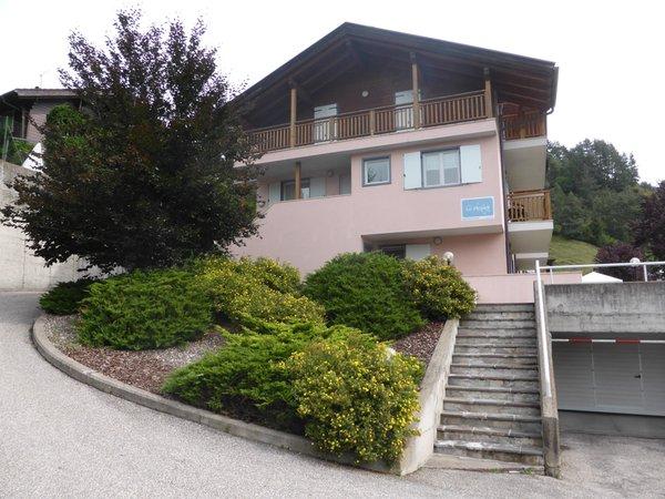 Foto estiva di presentazione Appartamenti Le Plejadi