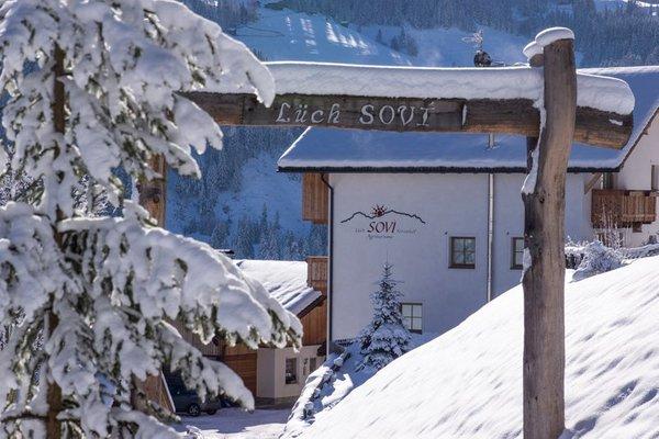 Foto invernale di presentazione Pensione in agriturismo Lüch Sovì
