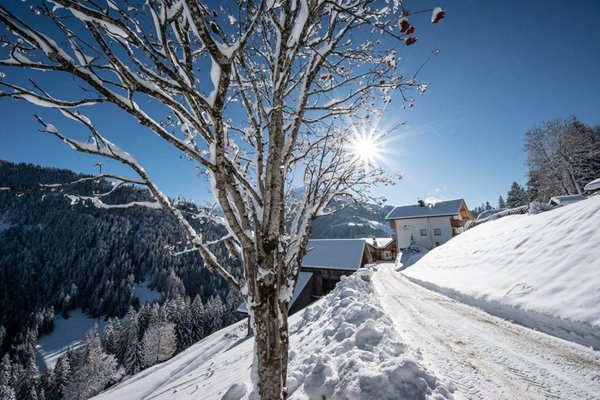 Foto esterno in inverno Lüch Sovì