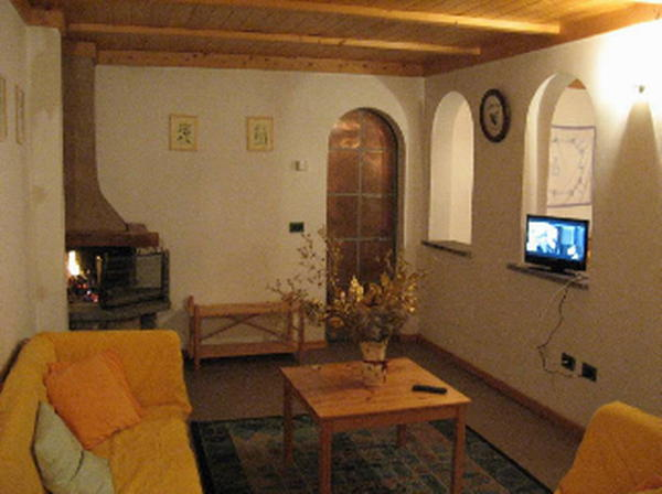 The living area Marzelin - Apartments 3 flowers
