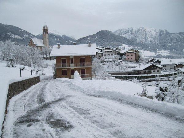 Foto esterno in inverno Varesco Wilma