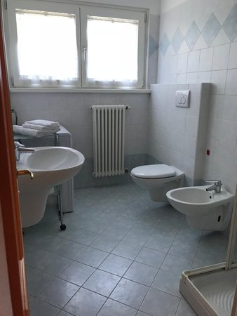 Photo of the bathroom Apartments Comfort Casa Eccher