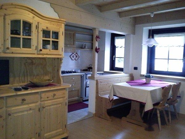 La zona giorno Dalpalù Giovanna - Appartamenti 3 genziane