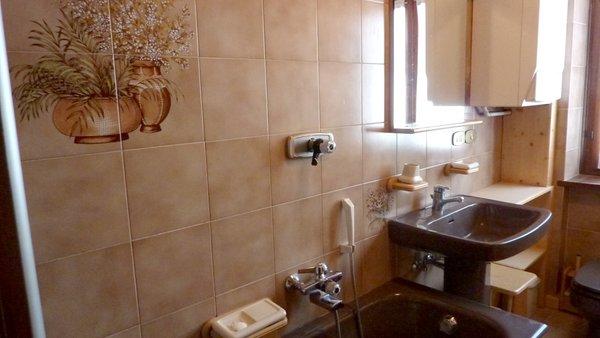 Foto del bagno Appartamento Braito - Daiano