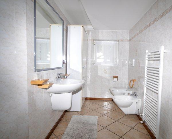 Foto del bagno Appartamenti Gilmozzi Teresina