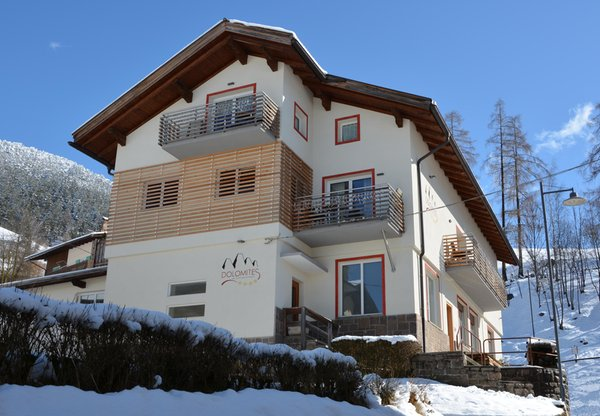 Winter presentation photo Dolomites - Bed & Breakfast 4 suns