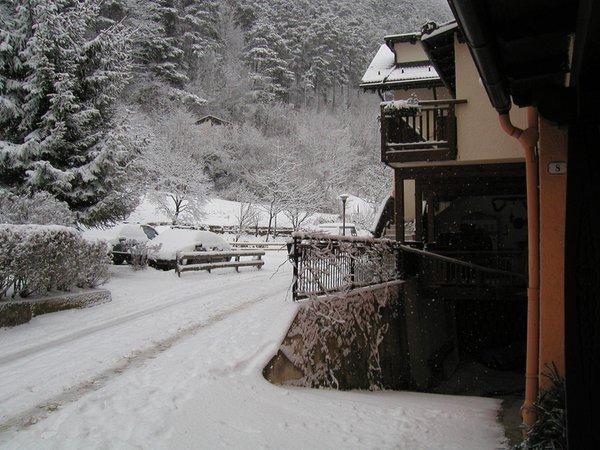 Photo exteriors in winter Vanzetta Raffaela