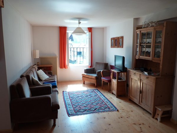 The living room Vanzetta Raffaela - Apartment 3 gentians