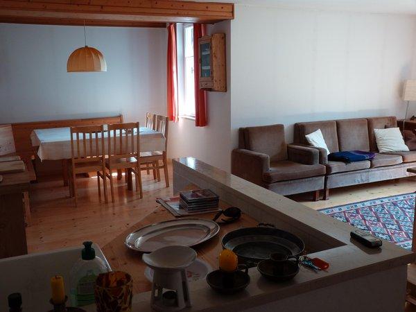The living area Vanzetta Raffaela - Apartment 3 gentians