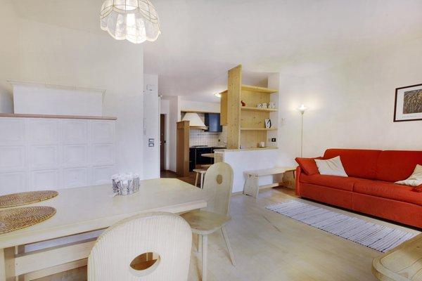 La zona giorno Casa Nicoleta - Appartamenti 4 genziane