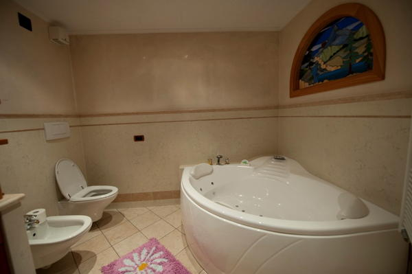 Foto del bagno Appartamento Giacomelli