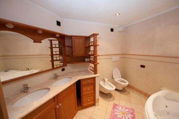 Foto del bagno Appartamenti Giacomelli Silvano