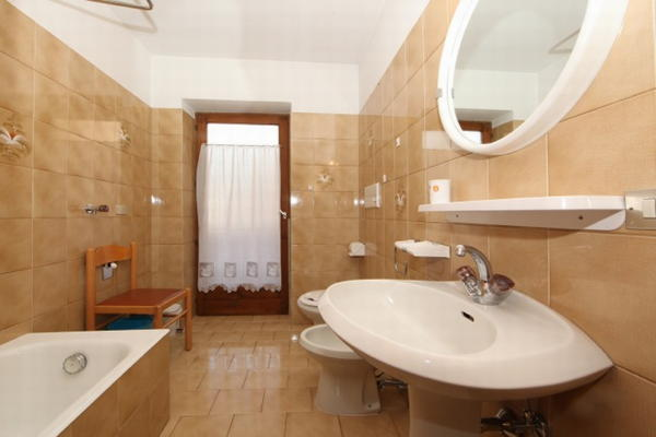 Foto del bagno Appartamenti Villa Rosa