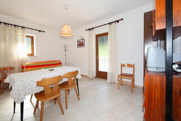 La zona giorno Villa Rosa - Appartamenti 3 genziane