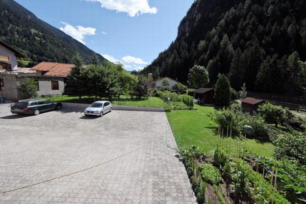 Il parcheggio Appartamenti Villa Rosa
