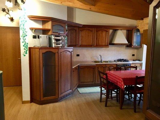 Foto der Küche Giacomelli