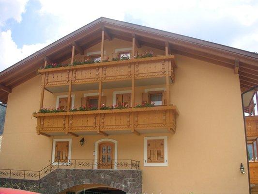 Sommer Präsentationsbild Ferienwohnungen Giacomelli