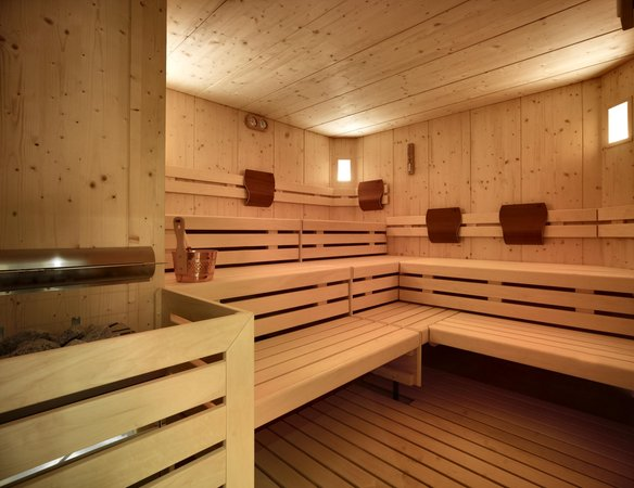 Photo of the sauna Predazzo