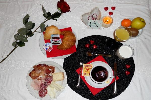 La colazione Garni Affittacamere Famiglia Ceschini