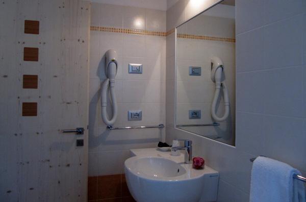 Foto del bagno Garni (B&B) Affittacamere Famiglia Ceschini