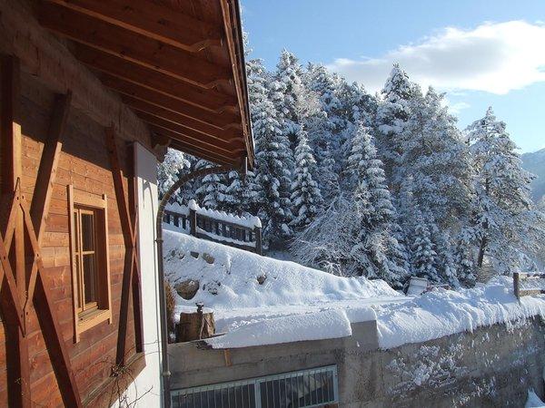 Winter presentation photo Farmhouse B&B Maso Santa Libera