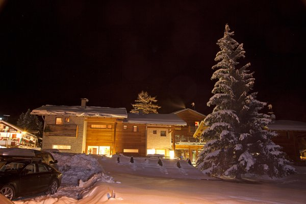 Foto Außenansicht im Winter Baite Aurora