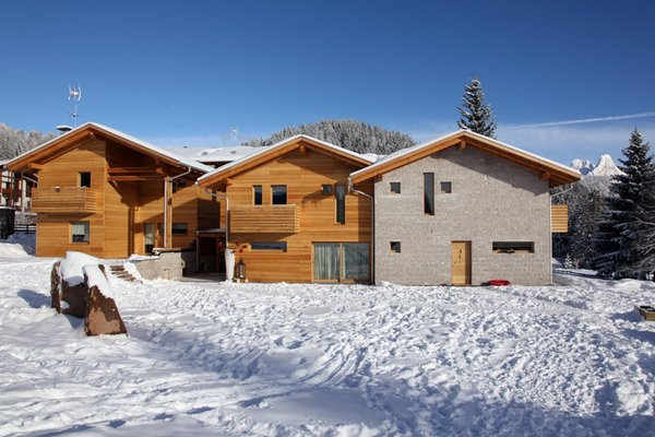 Foto invernale di presentazione Residence Baite Aurora