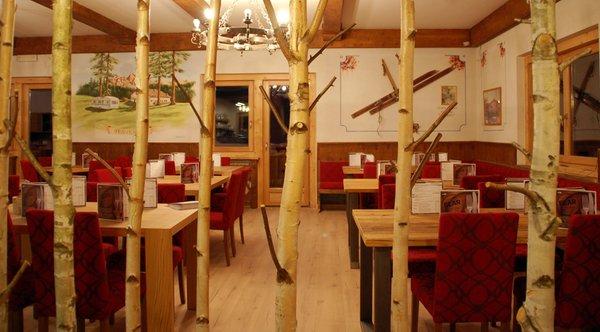 Das Restaurant Bellamonte Fiemme Village Camping&Resort