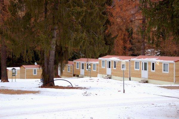 Winter Präsentationsbild Fiemme Village Camping&Resort