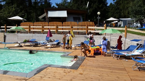 Schwimmbad Fiemme Village Camping&Resort