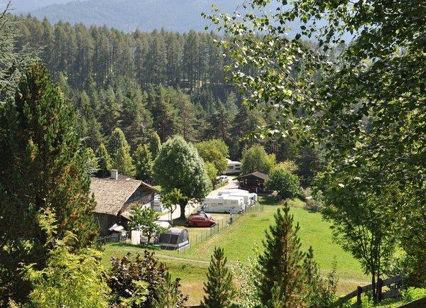 Lage Campingplatz Calvello Carano