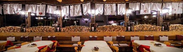 Das Restaurant Varena La Baita
