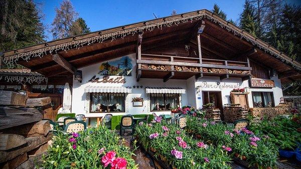 Sommer Präsentationsbild Restaurant La Baita