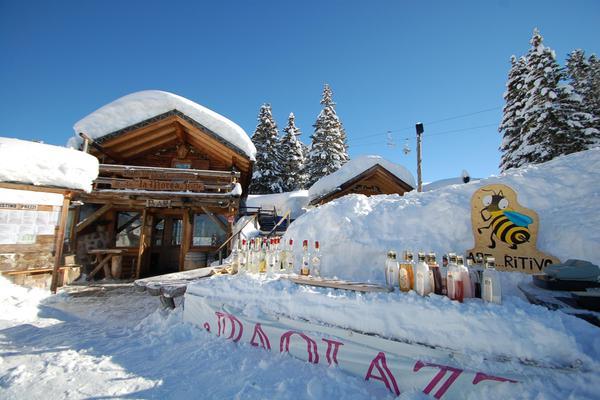 Foto invernale di presentazione Baita La Morea 3.0
