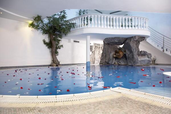 La piscina Hotel Kranebitt
