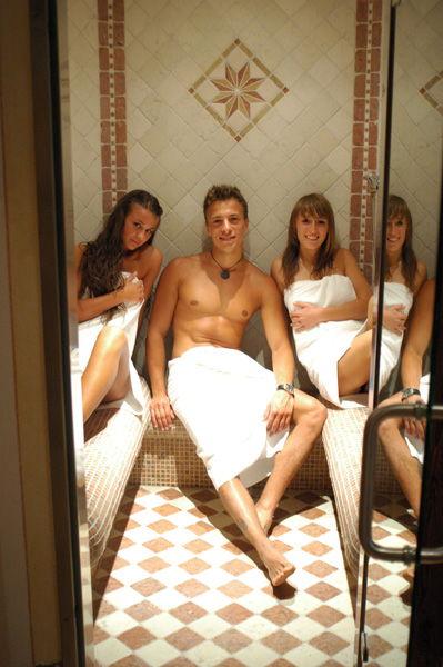 Hotel thuinerwaldele vipiteno valle isarco - Il bagno turco dipinto ...