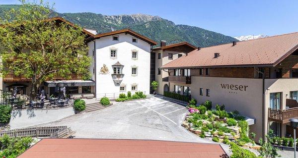 Sommer Präsentationsbild Hotel Wieser