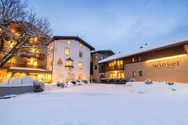 Winter Präsentationsbild Hotel Wieser